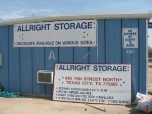 All Right Storage