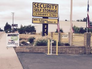 Security Self Storage - Chico