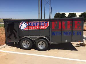 Bigfoot Moving Amp Storage Lubbock Units And Prices 1601