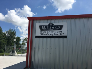 Bus Barn Storage